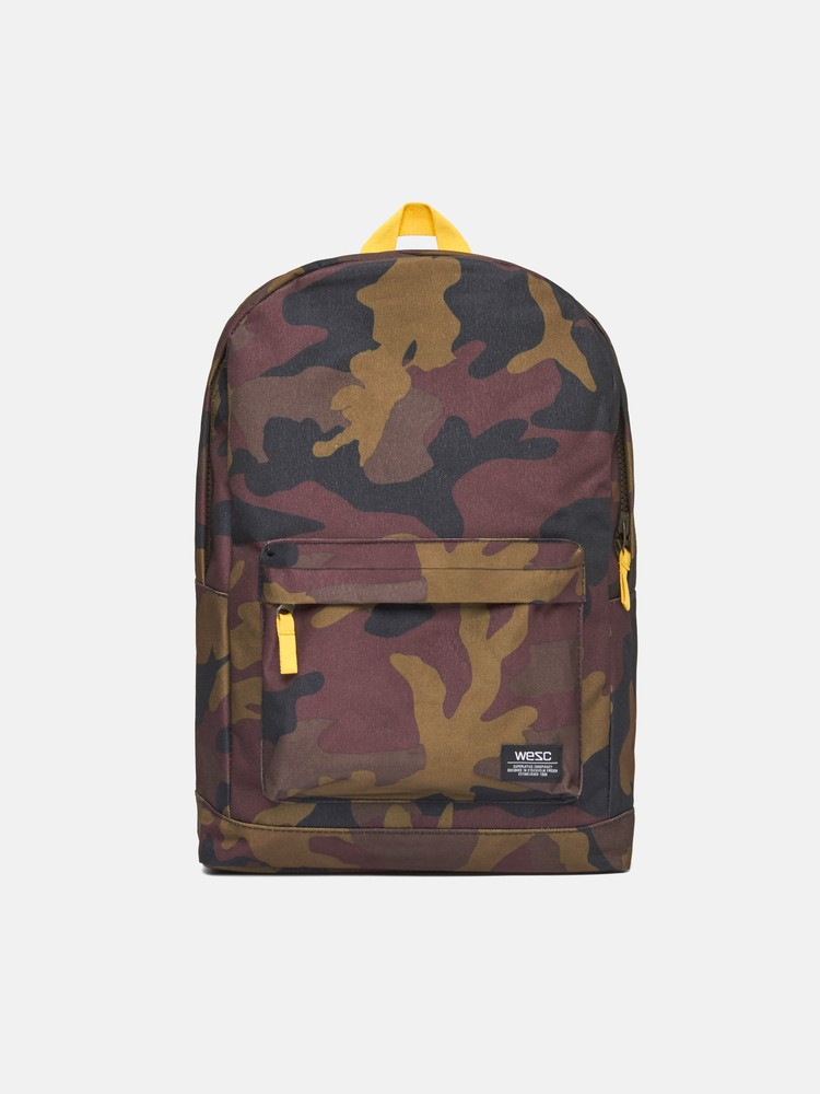 Chaz Camo Backpack